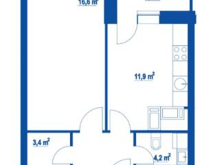 Продажа квартир: 1-комнатная квартира, Москва, Дмитровское ш., 100, фото 1