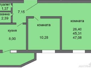Продажа квартир: 2-комнатная квартира, Воронеж, Сельская ул., 23, фото 1
