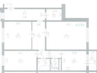 Продажа квартир: 3-комнатная квартира, Московская область, Подольск, ул. Генерала Стрельбицкого, 13, фото 1