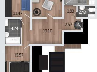 Продажа квартир: 3-комнатная квартира, Воронеж, Мордасовой ул., 9а, фото 1