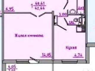 Продажа квартир: 1-комнатная квартира, Красноярск, ул. Дмитрия Мартынова, 9, фото 1