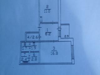 Продажа квартир: 1-комнатная квартира, Саратов, п. Юбилейный, Федоровская ул., 2, фото 1