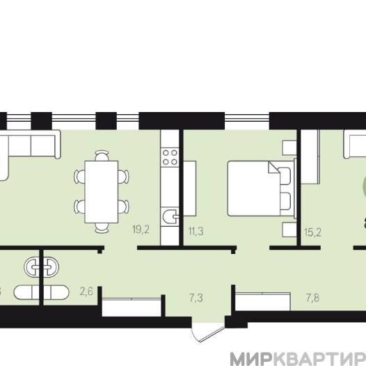 Продам квартиру в новостройке Екатеринбург, ул. Новаторов, 90