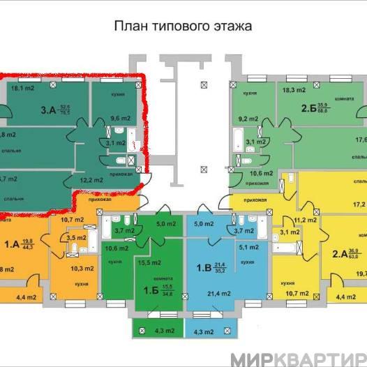 Продажа 3-комнатной квартиры, кемеровская обл, кемерово г, ударная ул, 12