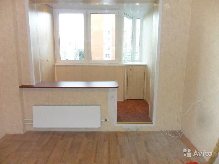 Перепланировка однокомнатной квартиры вынос кухни на балкон..